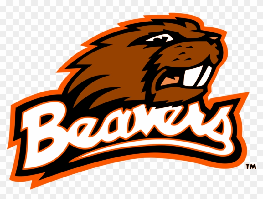 Beaver Cliparts - Oregon State University Mascot #32235