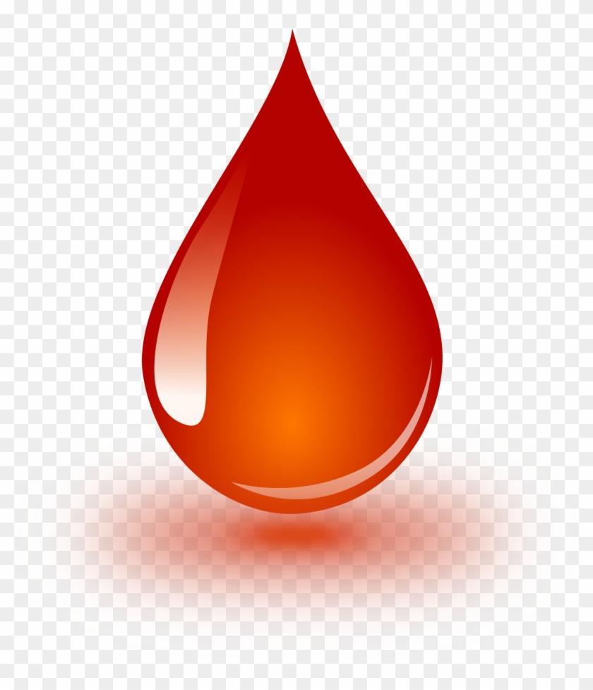 Clipart Blood Drop - Blood Drop Image Png #32259