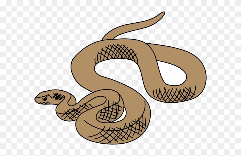 Chinese Snake Clip Art - Brown Snake Clipart #32325