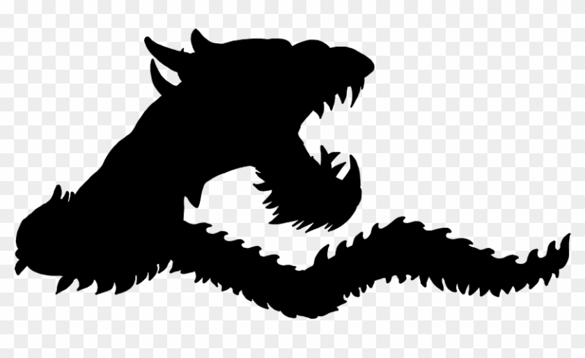 Pictures Of Cool Dragons - Dragon Silhouette Png Gif #32334