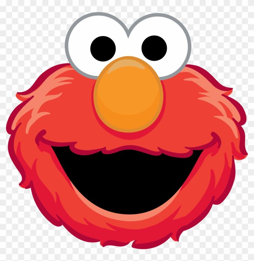 Birthday Clipart Elmo - Sesame Street Printable Masks #32362