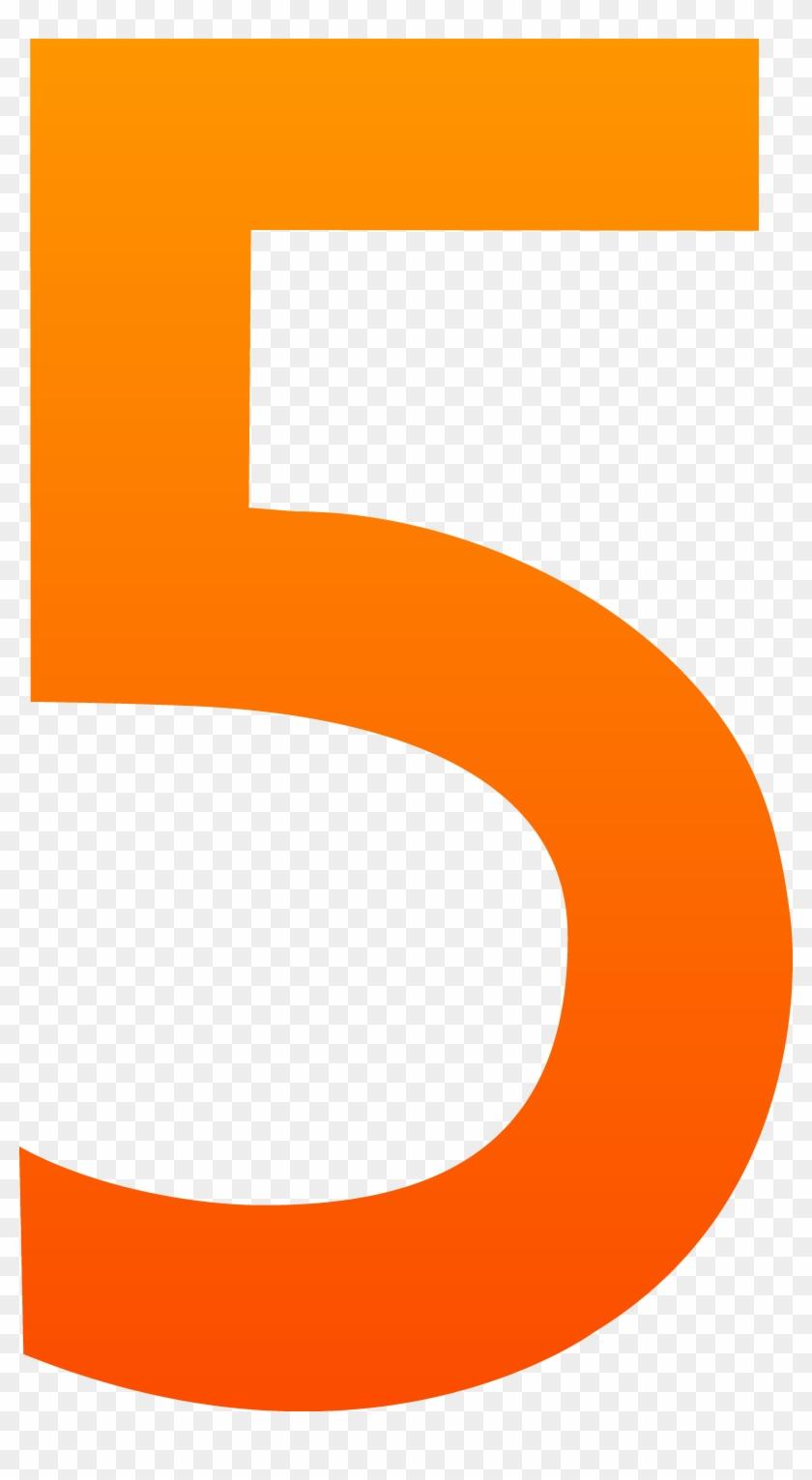 Five Number Clip Art - 5 Clipart #32397