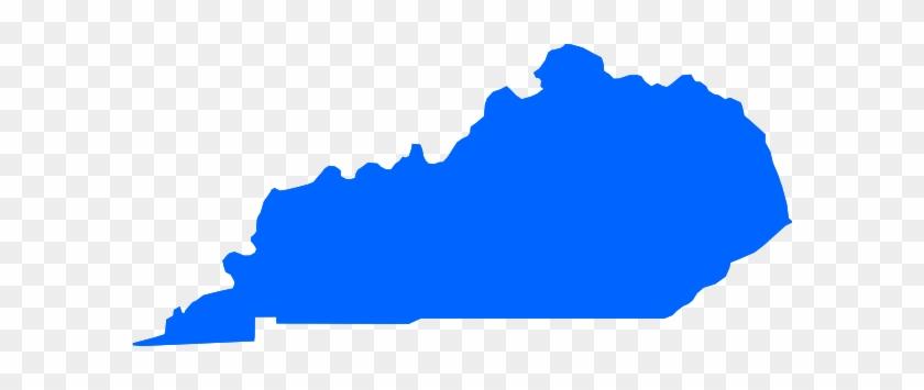 Blue Kentucky Clip Art At Clker - Kentucky #32405