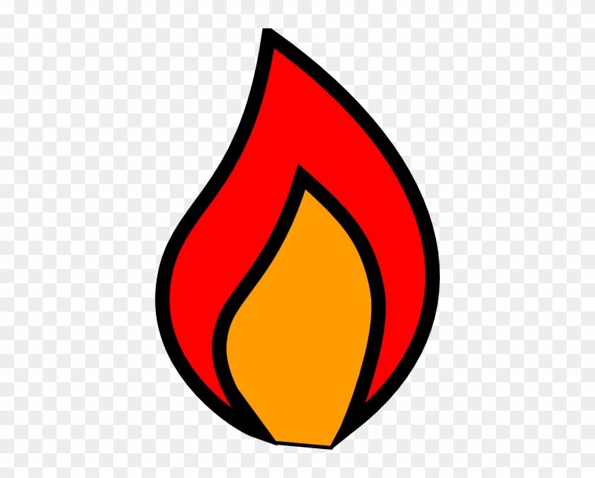 Flames Clip Art - Clip Art Candle Flame #32478