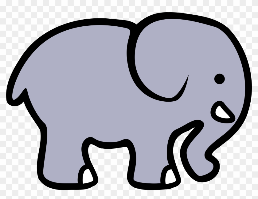 Éléphant Clipart - Elephant Clipart #32508