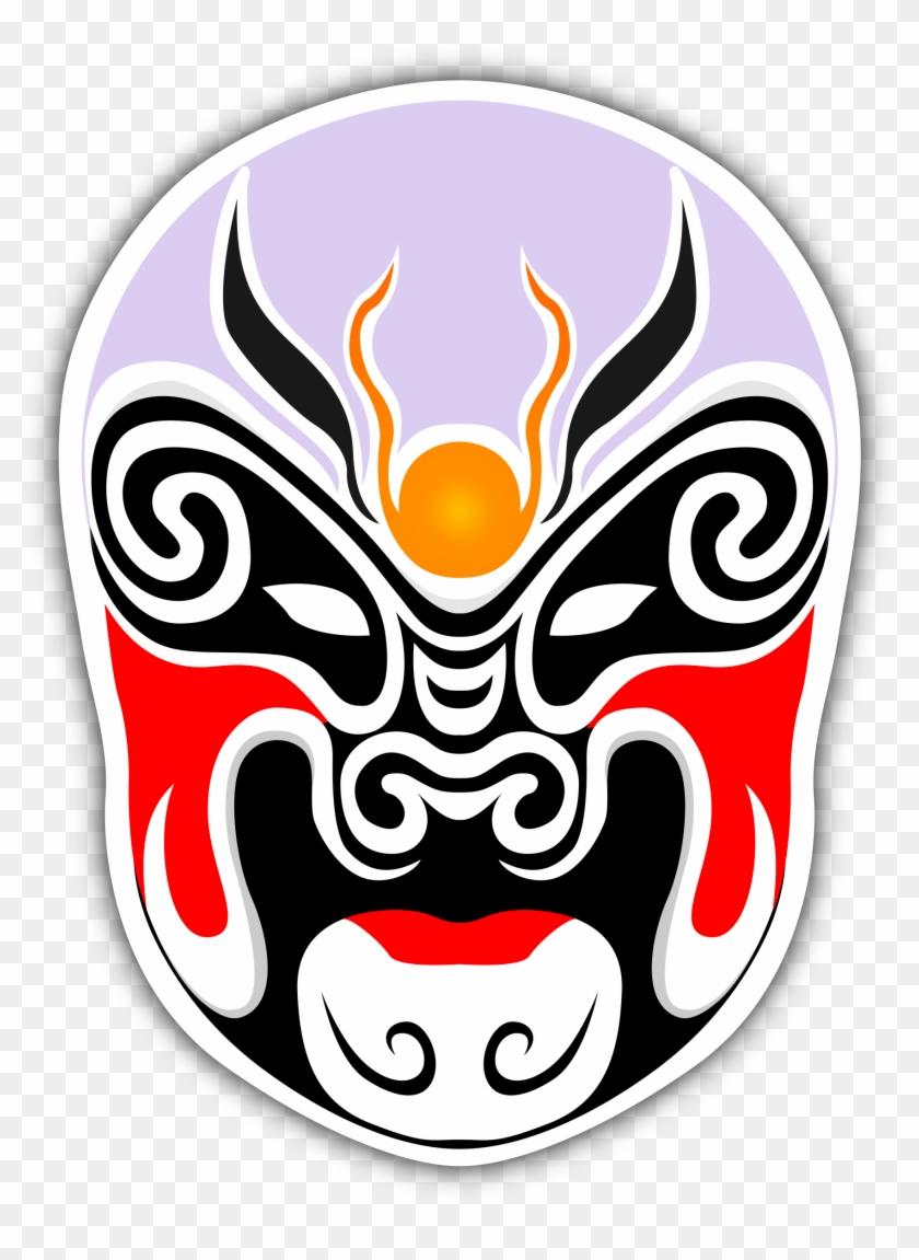 Chinese Theater Masks - Ảnh Mặt Nạ Quỷ #32546
