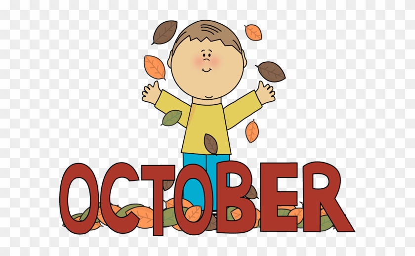 Free October Clip Art - Months Of The Year October #32542