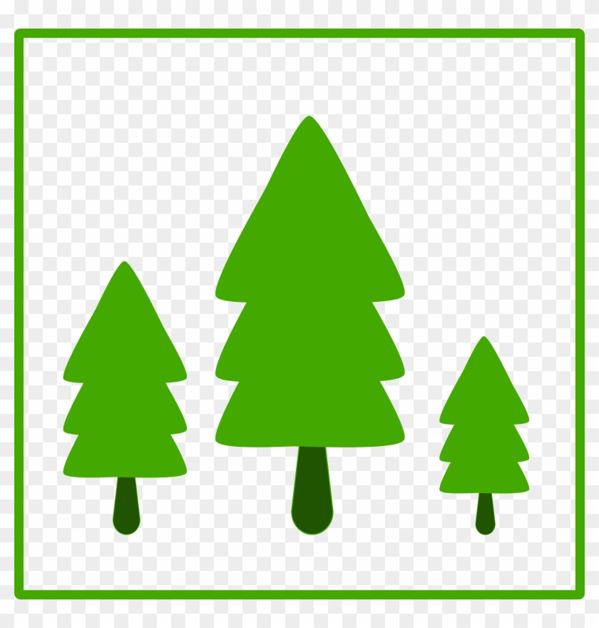 Tree Clip Art Download - Trees Icon Green #32575