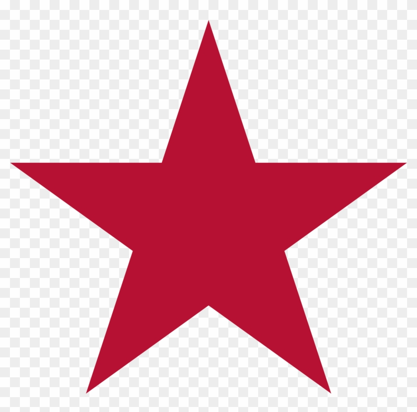 Red And Black Star #32581