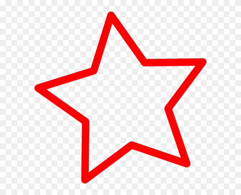 Star Clipart Red #32583