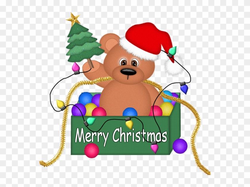 Clipart Christmas Bear - Christmas Bear Clip Art #32595