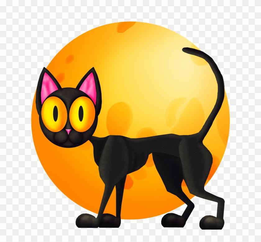 Spooky Cat Cliparts - Cat #32679