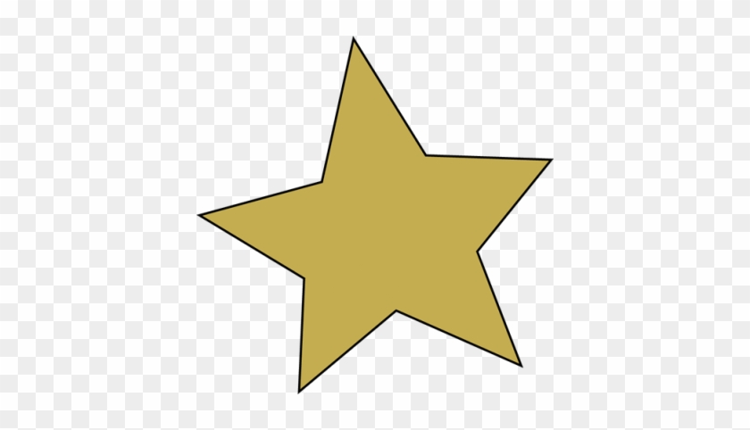 Gold Star Clipart Free Clipart Images - Star Clipart No Background #32712