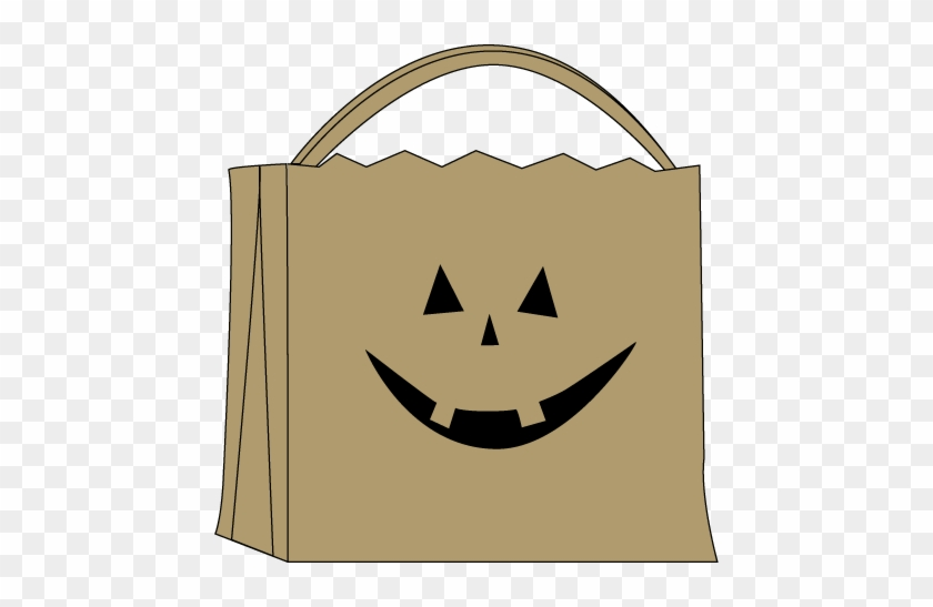 Trick Or Treat Bag - Trick Or Treat Bag Clipart #32717