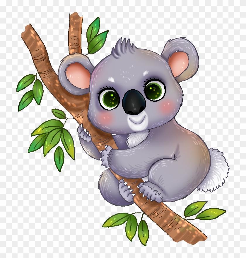 Koala Clipart - Baby Koala T-shirt #32767
