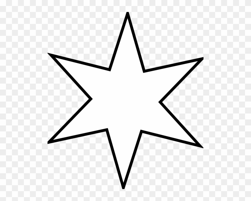 Star Outline Outline Star Clip Art Free Vector 4vector - Chicago Cares Serve A Thon 2018 #32782