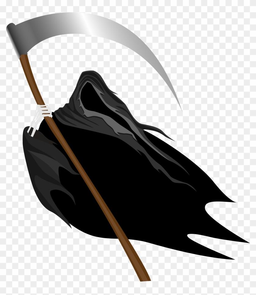 Creepy Clipart Transparent - Grim Reaper Png #32822