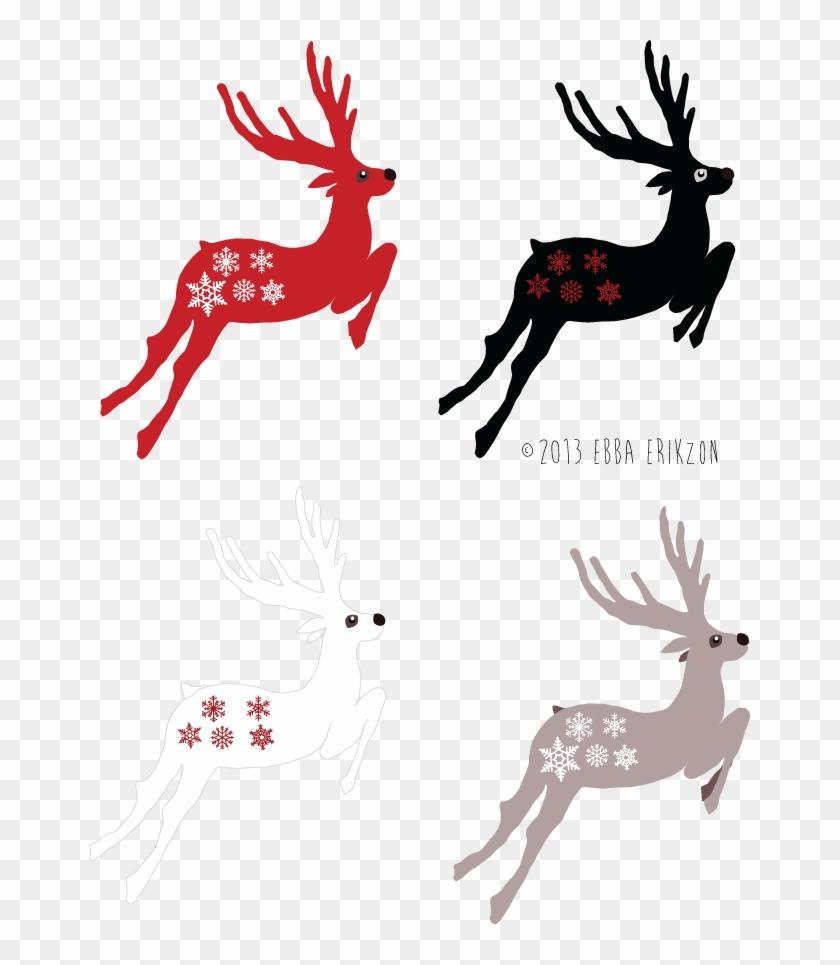 Christmas Patterns - Deer #32810