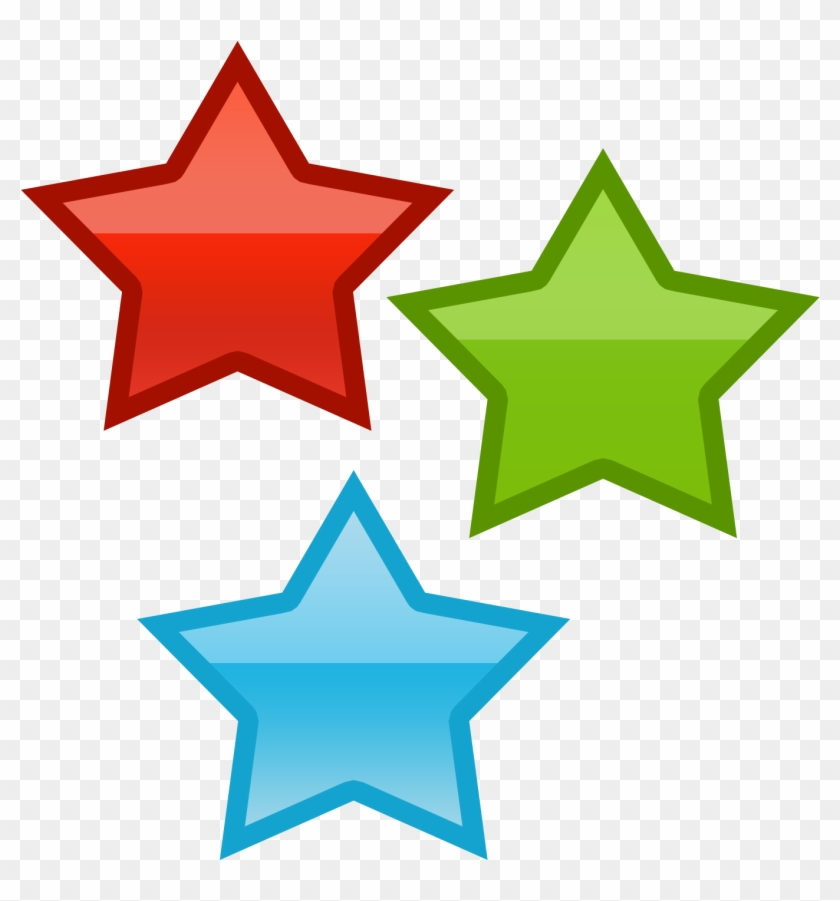 Three Stars By Worddraw Three Stars By Worddraw - Clip Art 3 Stars #32884
