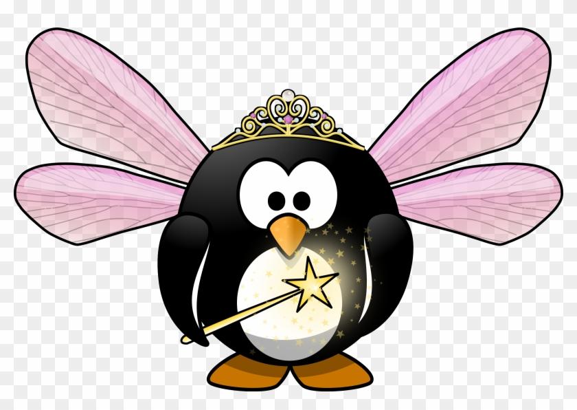 Fairy Penguin - Penguin Fairy #32900