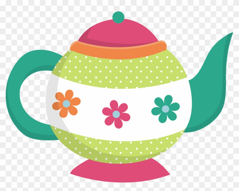 Kitchen Clipart, Tea Pots, Tea Parties, Tea Time, Chocolate - Tea Kettle Clip Art #32932