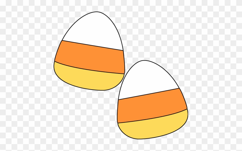 Candy Corn Pieces - Candy Corn Clipart No Background #32941