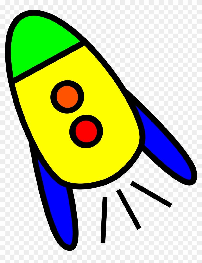 Clipart - Cartoon Rockets Png #32976
