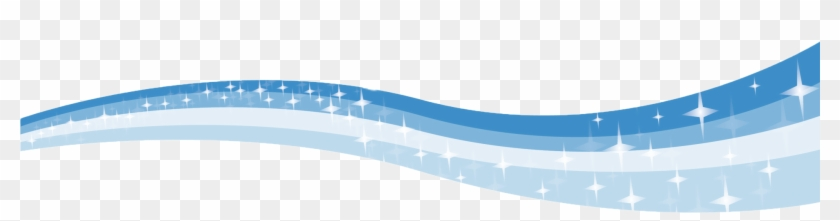 Blue Water Clipart Water Wave - Wave Border Png #32982