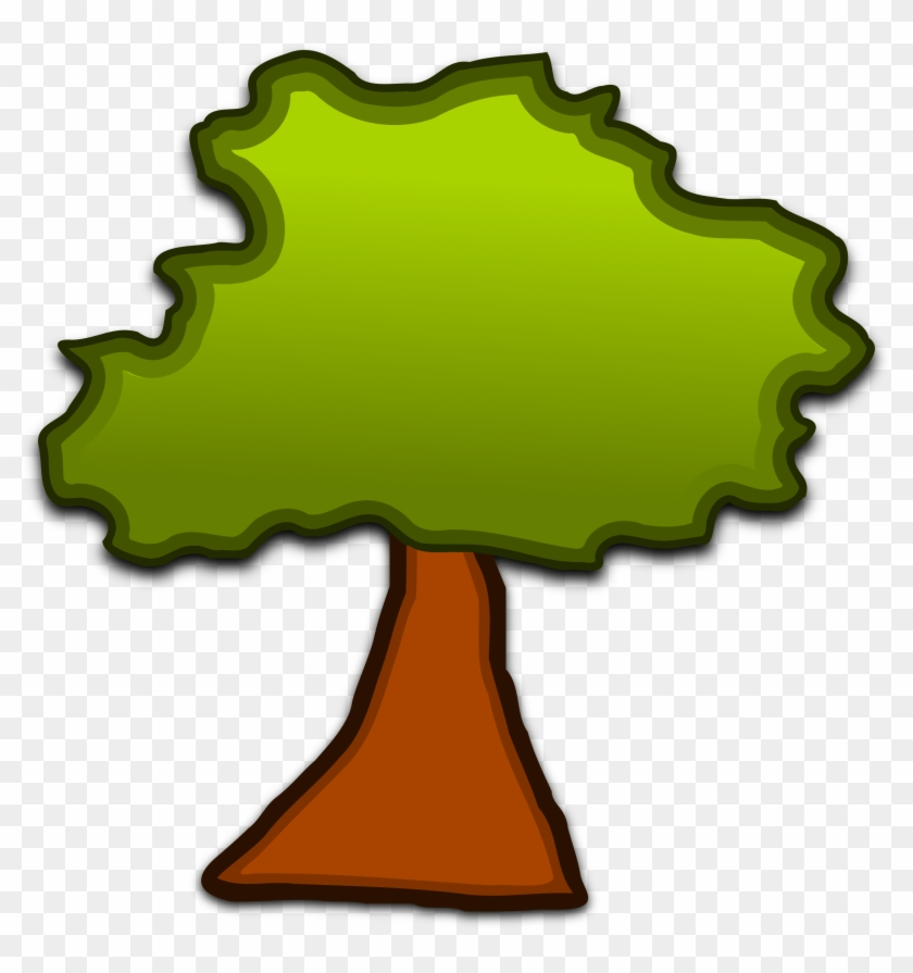 Clip Art Trees Free - Barked Up The Wrong Tree #33019