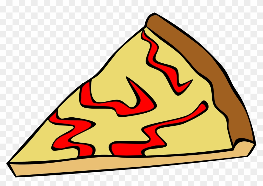 Pizza Clipart Fast Food - Cartoon Cheese Pizza #33030
