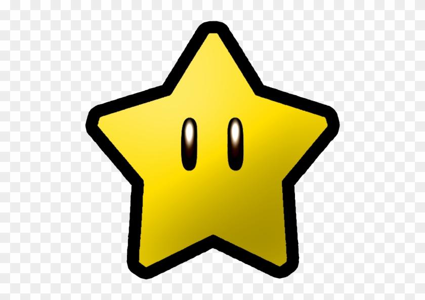 Nintendo Clipart - Super Mario Power Star #33033