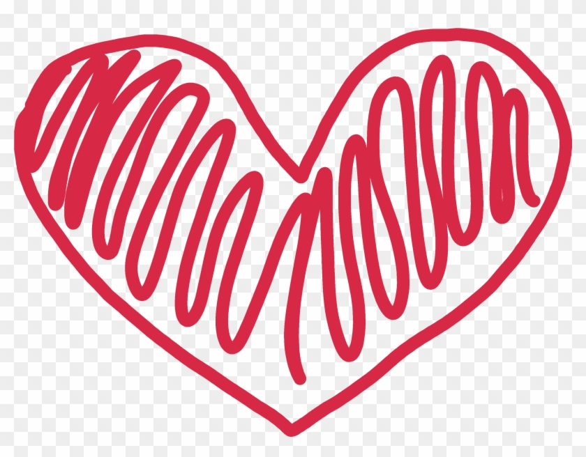 Clip Arts Related To - Heart Doodle Transparent #33050