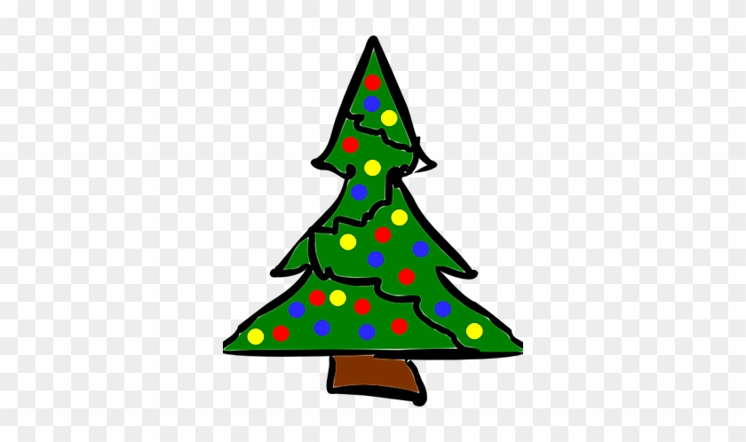 We Have Lots Of Ugly Christmas Sweaters To Choose From, - Ugly Christmas Tree Cartoon #33046