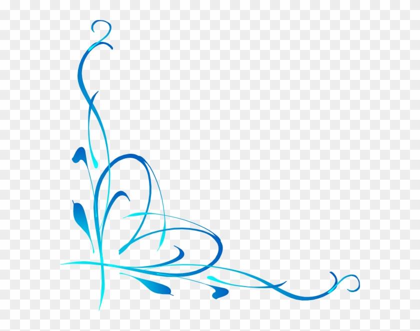 Heart Vine3 Clip Art - Dibujo Esquinero Png #33060