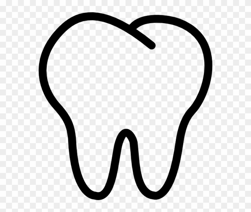 Tooth Outline Free Vector Icons Designed By Freepik - Tooth Outline Free Vector Icons Designed By Freepik #33064