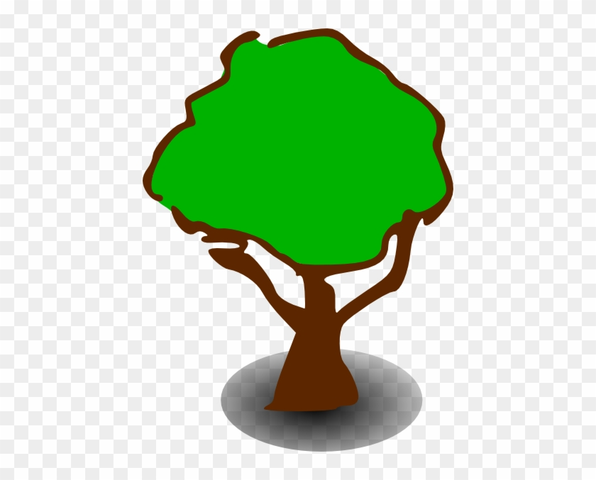 Free Vector Treerpg Map Elements Clip Art - Forest Clipart #33164