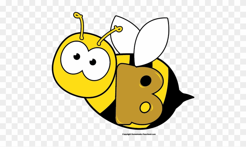 Missouri Mule Clipart - Letter B Bee #33210