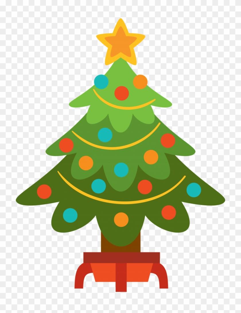 Christmas ~ Free Christmas Tree Clip Art Moment Image - Christmas Tree Png Clipart #33212