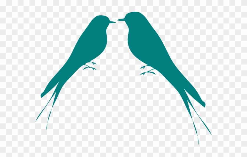 Love Birds Clip Art - Bird Silhouette #33216