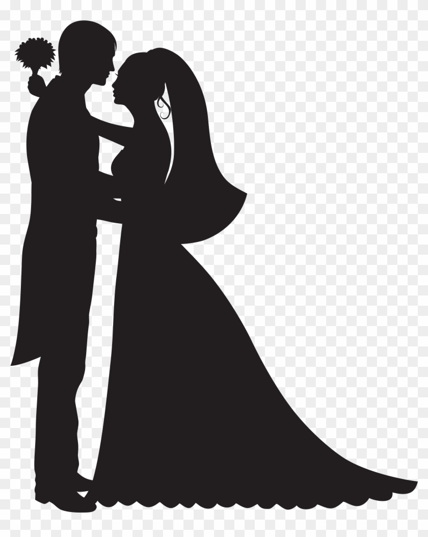 Groom And Bride Png Clip Art - Groom And Bride Png Clip Art #33284