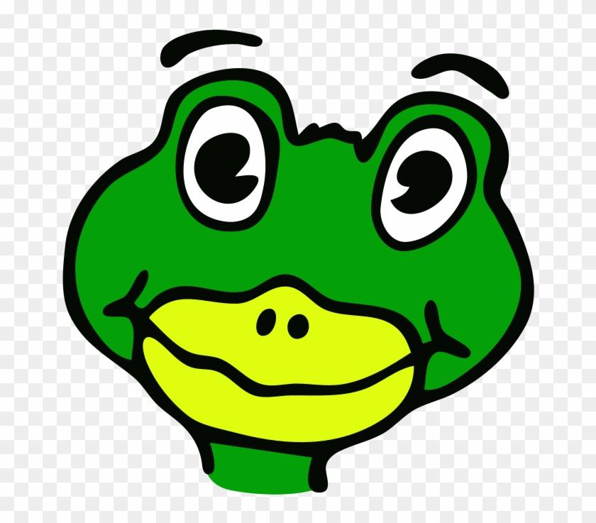 1 - Draw Cartoon Lizard Face #33324
