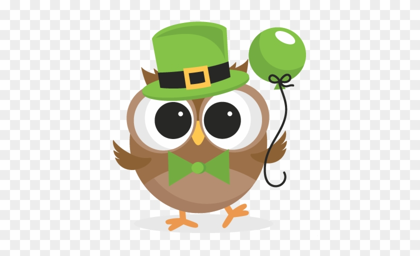 Irish Owl Svg Scrapbook Cut File Cute Clipart Files - St Patricks Day Clipart #33348