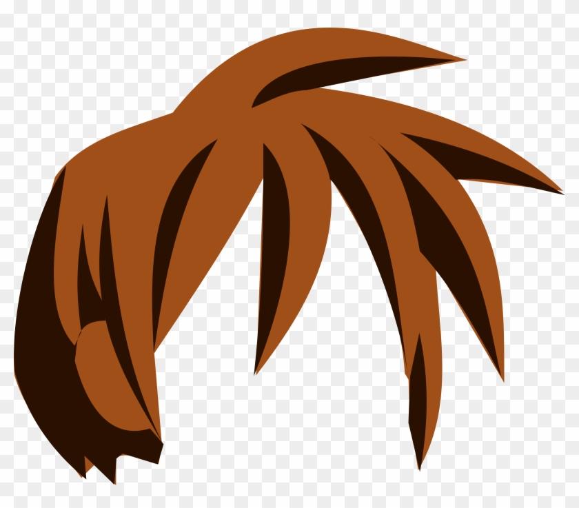 Hair Clip Art - Anime Hair Png Boy #33449