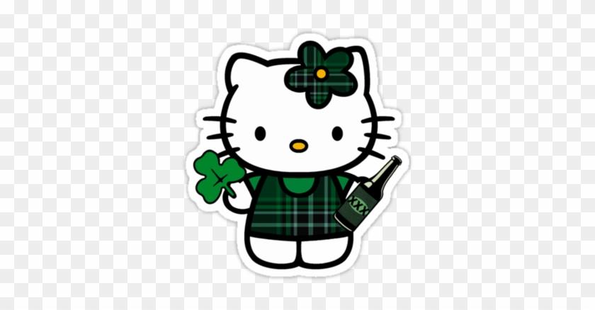 Hello Kitty St Patricks Day - Hello Kitty St Patricks Day #33558