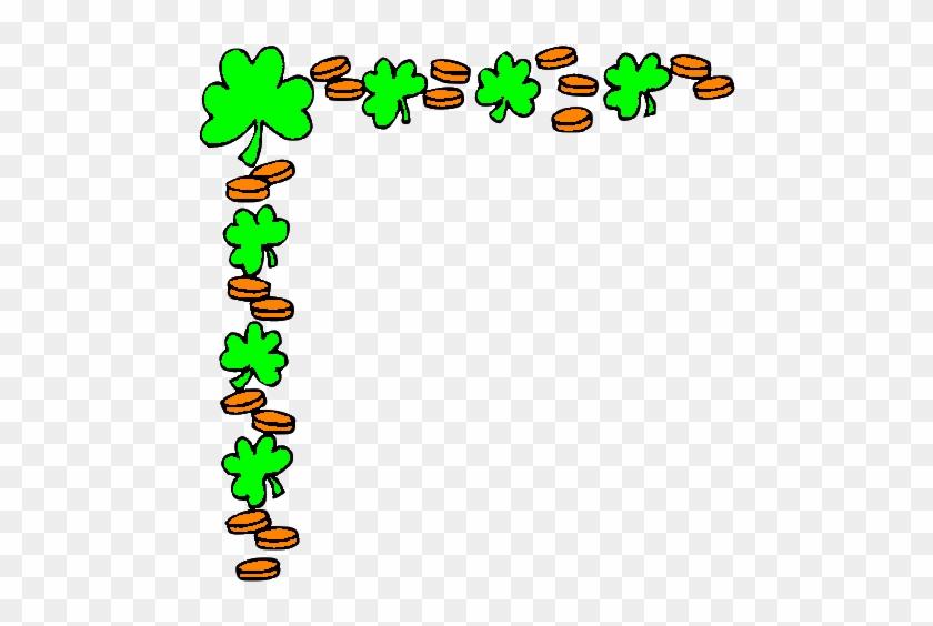 Cornerleft - - St Patricks Day Border Clip Art #33559