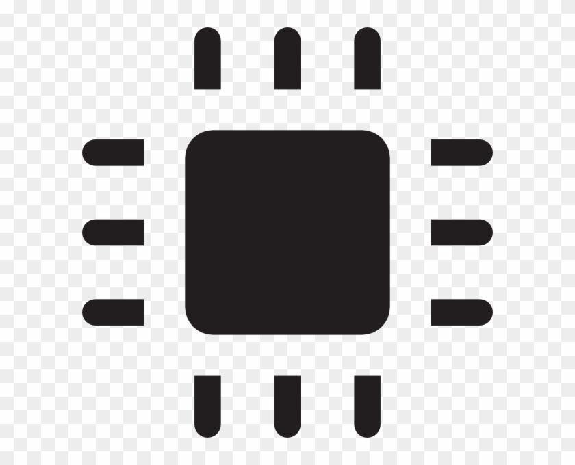 Chip Icon Clip Art At Clker - Clip Art #33637