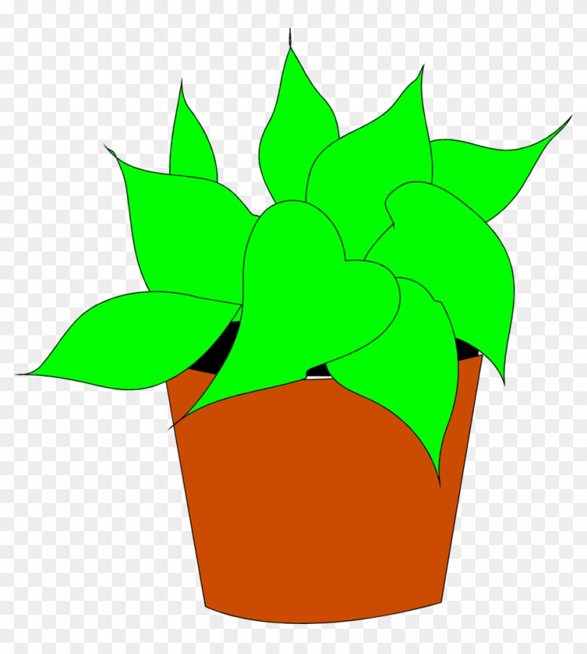 Potted Plant Clipart Kid - Free Clipart Potted Plant #33642