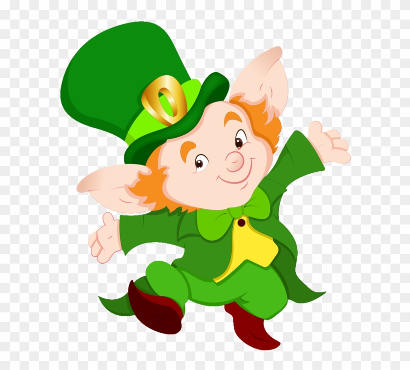 Leprechaun Elf Irish People Clip Art - Leprechaun Elf Irish People Clip Art #33678