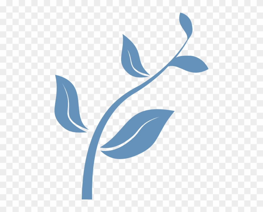 Grow Blue Clip Art - Growing Plant Clip Art #33654