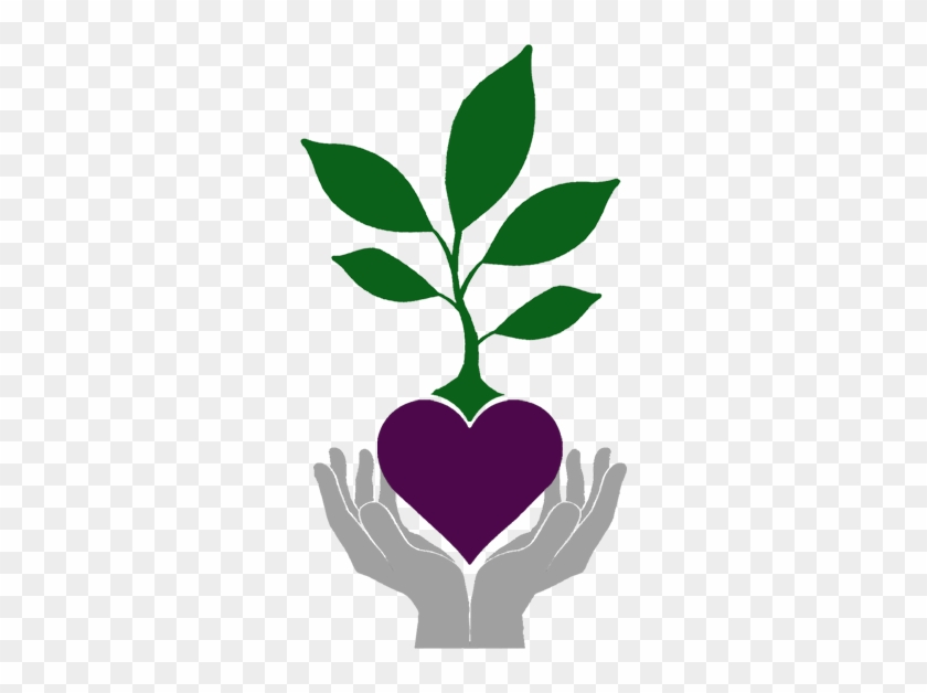 Hands Holding Heart With Plant Growing Out Of It - Pretreatment Guide For Homeless Outreach & Housing #33657
